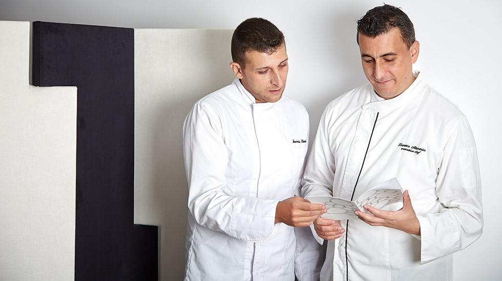 Pallas Athena Executive Chef Sakis Tzanetos