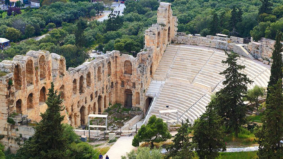 Herodion under Acropolis