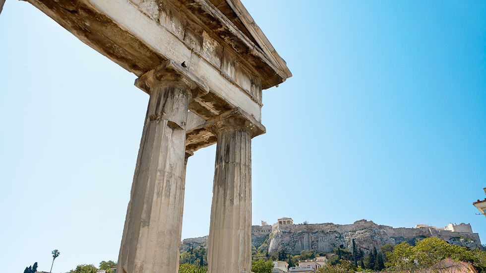 Ancient Greece Architecture in Athens