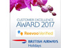 REEVOO CUSTOMER EXCELLENCE AWARD