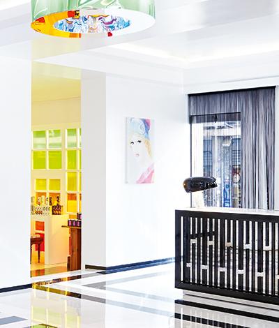 Lobby & Reception -
